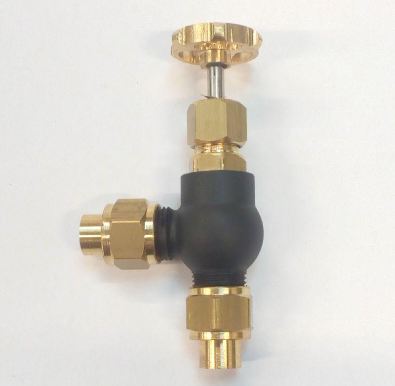 5//16 x 32 check valve 3//16 pipe live steam