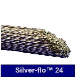 Silverflo 24 1.5mm rod x 600mm